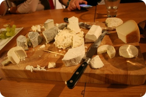 French goats cheese chevre