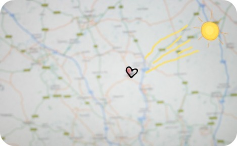 map home is where the heart is