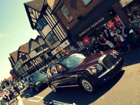 Queen's car