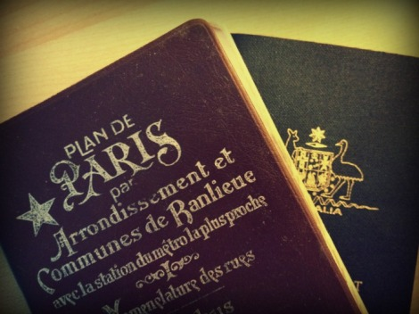 Plan de Paris, Australian Passport