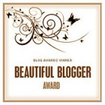 beautiful blogger award 2012