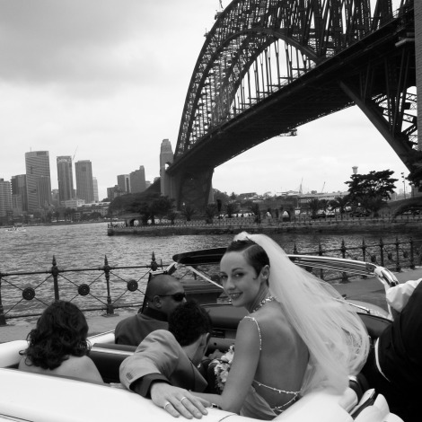 Wedding Sydney Harbour