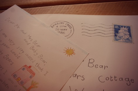 Jolly Postman letters