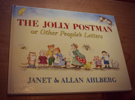 Jolly Postman Book Cover