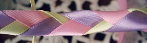 ribbon plaited together
