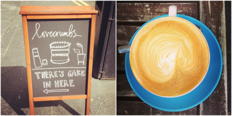 coffee and cake in edinburgh