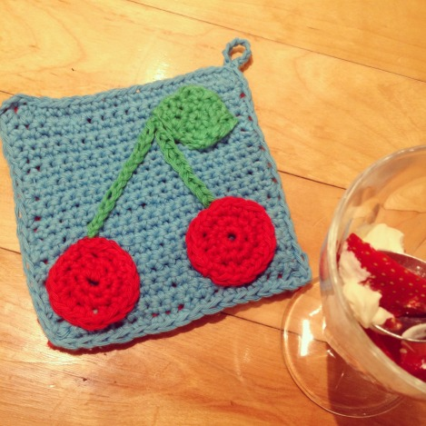 crochet potholder for beginners