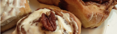 Cinnamon and Pecan Buns | bluebirdsunshine