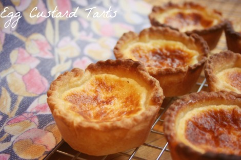 Egg Custard Tarts   Bluebirdsunshine