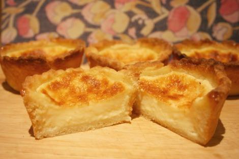 Egg Custard Tarts | Bluebirdsunshine