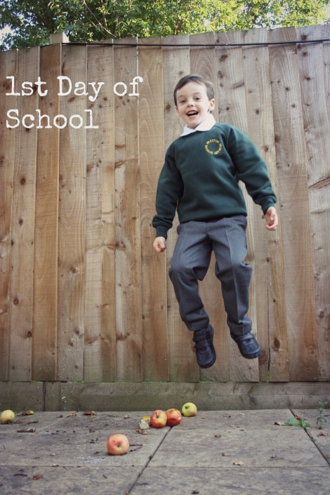 First day of school | Bluebirdsunshine