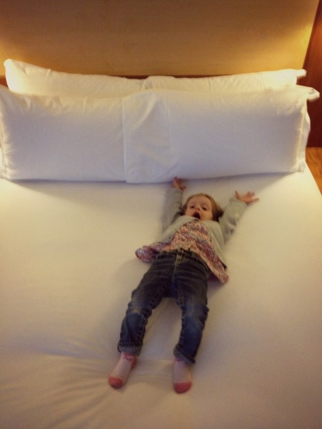 Shine on Sofitel Gatwick bed | Bluebirdsunshine