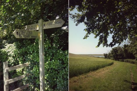 Moonfleet Manor Coastal Path Dorset
