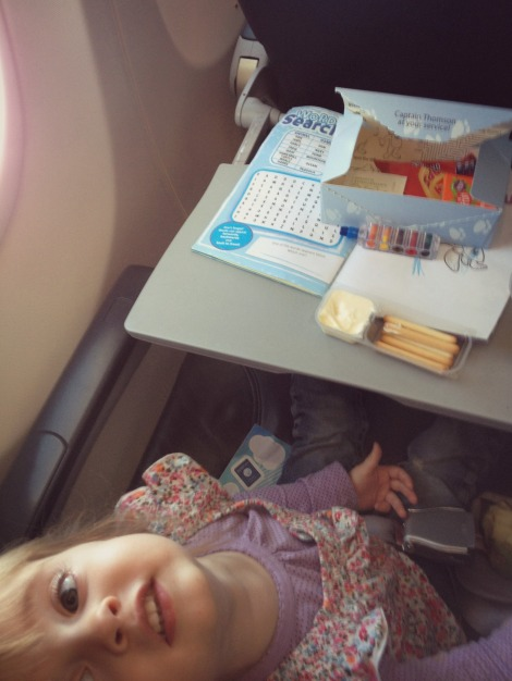 Kids Snack Box on Thomson Airways | Bluebirdsunshine
