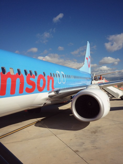 Thomson Airways Plane | Bluebirdsunshine