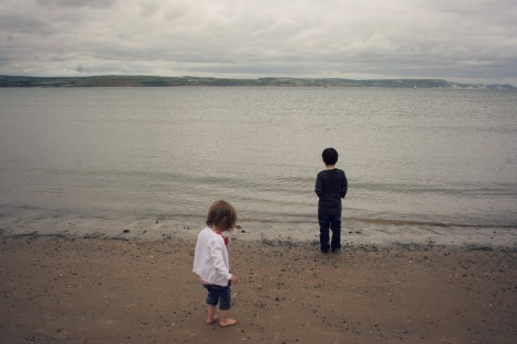 Children on Weymouth Beach | Bluebirdsunshine