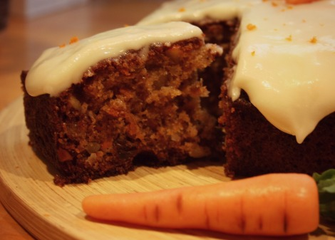 carrot cake slice | bluebirdsunshine