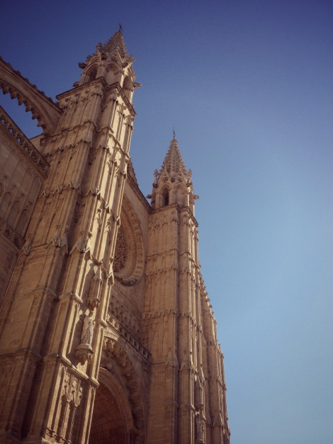 Palma Cathedral Spires | bluebirdsunshine