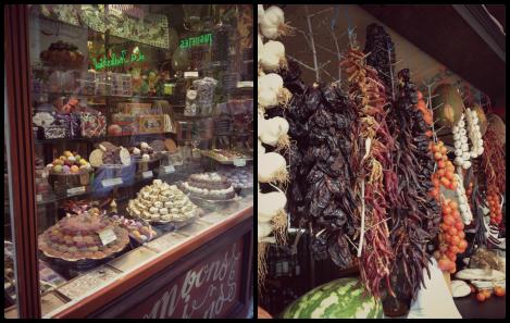 Shop displays in Palma | bluebirdsunshine