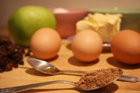 Spiced Apple Tea Loaf Ingredients | Bluebirdsunshine