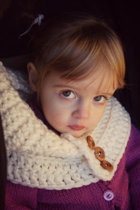 crochet snood hood | bluebirdsunshine
