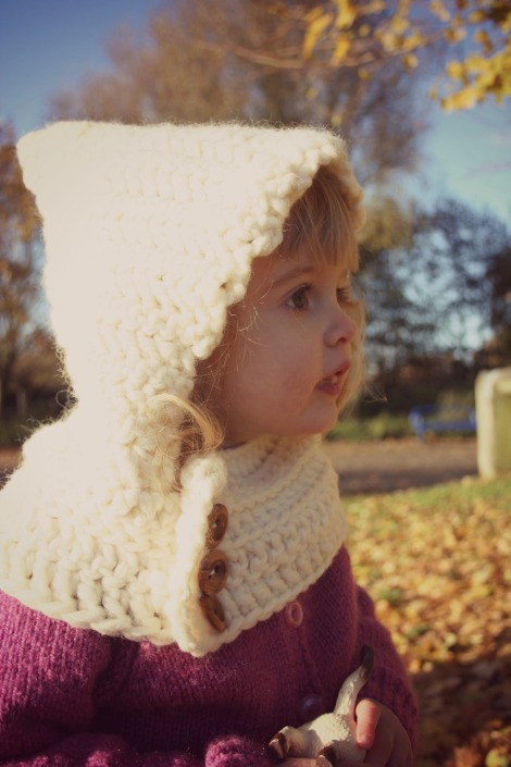 crochet snood hood | bluebirdsunshine