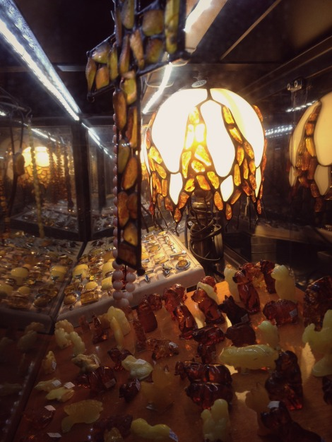 Amber shop in Gdansk | bluebirdsunshine