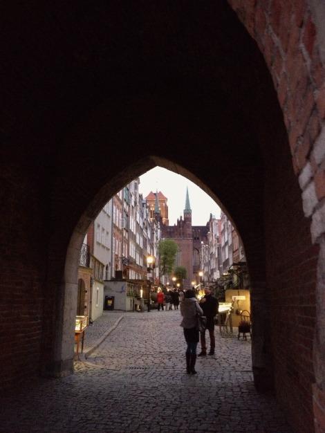 arch in Gdansk | bluebirdsunshine