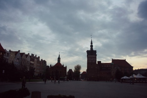 Gdansk at dusk | bluebirdsunshine