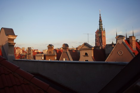 Gdansk Old Town at dawn | bluebirdsunshine