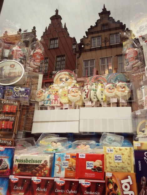 sweet shop in Gdansk | bluebirdsunshine