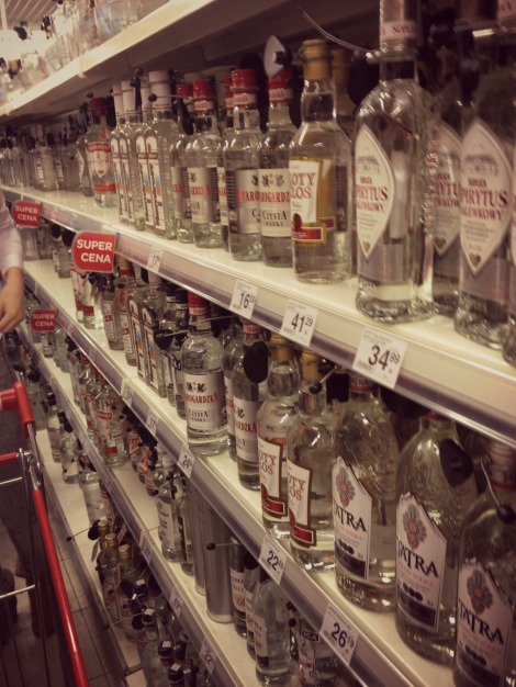 Vodka galore in Gdansk Poland | bluebirdsunshine
