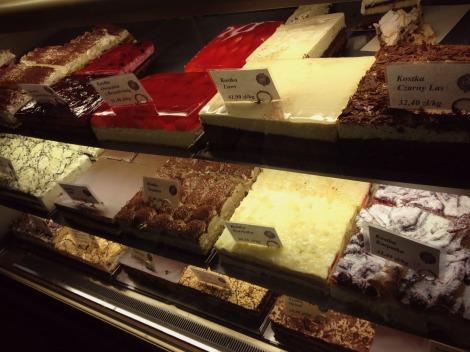Cream Cakes in Gdansk | bluebirdsunshine