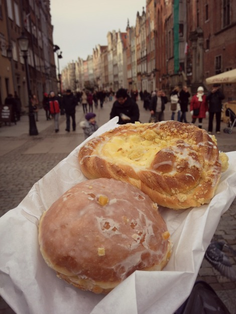 pastries in Poland | bluebirdsunshine
