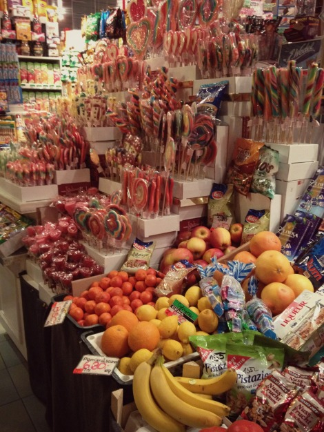 fruit in the sweet shop in Gdansk | bluebirdsunshine