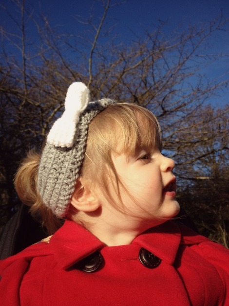 Crochet Bow Headband | bluebirdsunshine