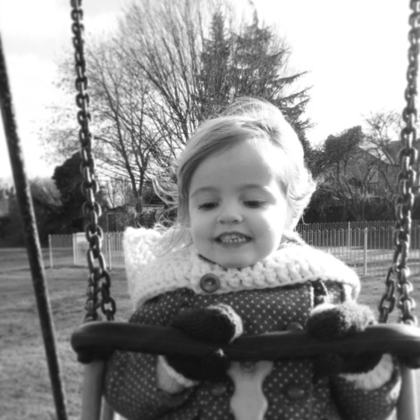 girl on swing | bluebirdsunshine