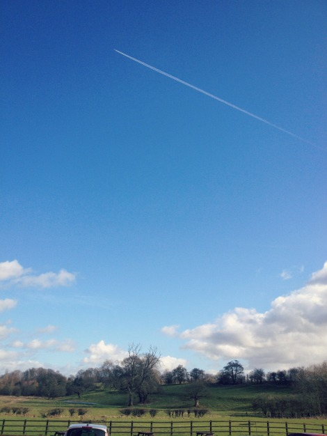blue skies over country | bluebirdsunshine