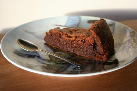 Flourless chocolate cake | bluebirdsunshine