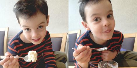 Shake n' Make homemade ice cream | bluebirdsunshine