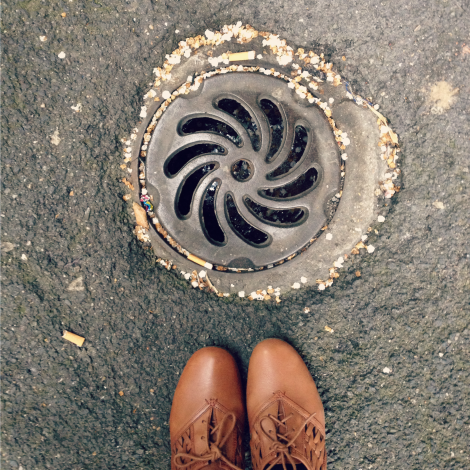 Drain in Paris | bluebirdsunshine