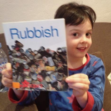 rubbish book | bluebirdsunshine
