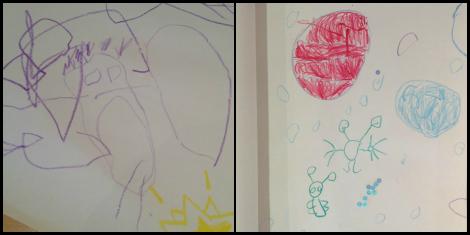 kids drawings of aliens | bluebirdsunshine