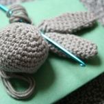 crochet bunny WIP | bluebirdsunshine