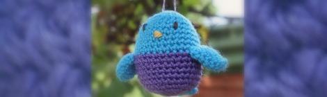 Amigurumi Bluebird | bluebirdsunshine