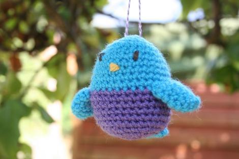 Little crochet blue bird | bluebirdsunshine