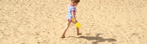 beach stride thumb