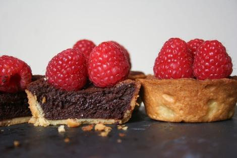 Dark chocolate Tarts | bluebirdsunshine