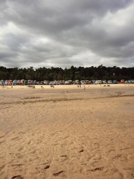 Stormy beach | bluebirdsunshine