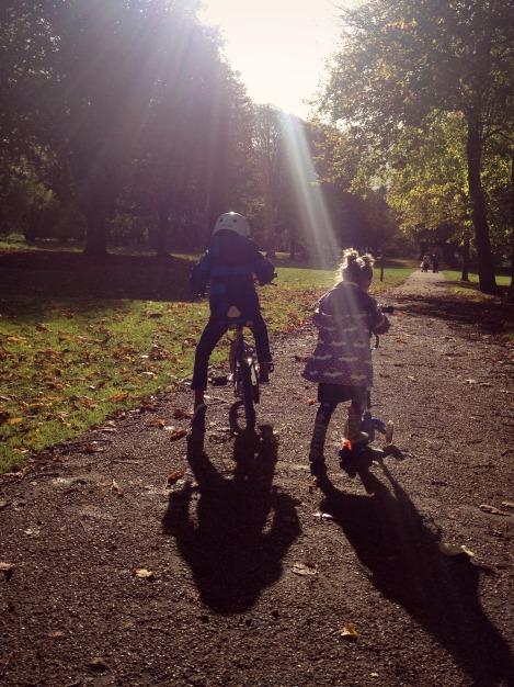 Autumn siblings | bluebirdsunshine